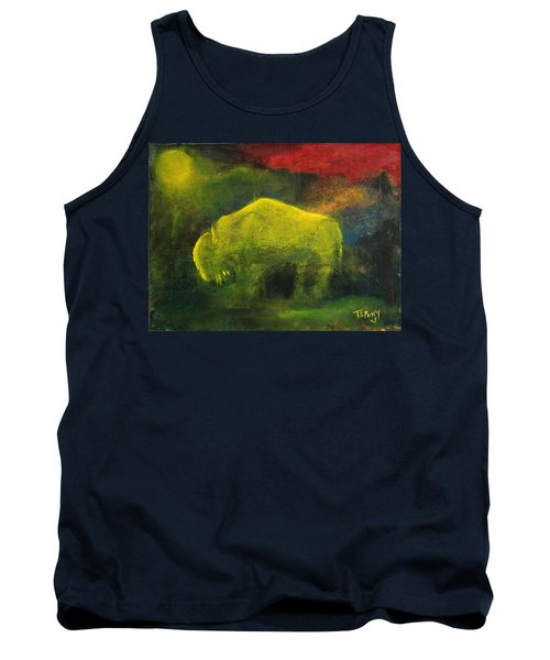 Moonlight Buffalo Tank Top