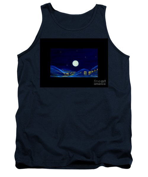 Moonlight. Winter Collection Tank Top