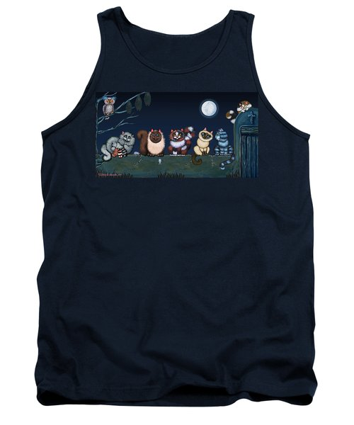Moonlight On The Wall Tank Top