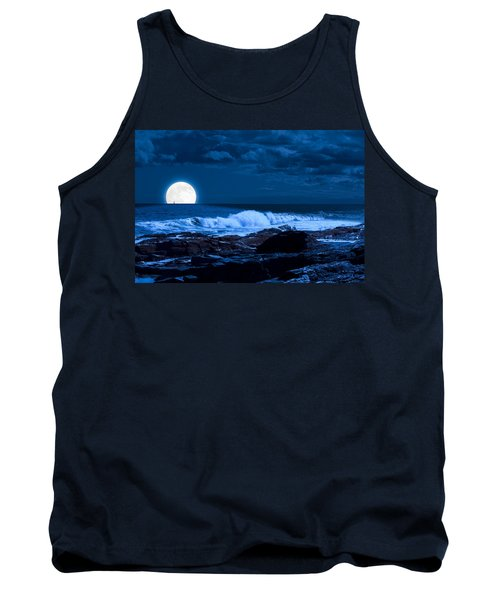 Moonlight Sail Tank Top by Fred Larson