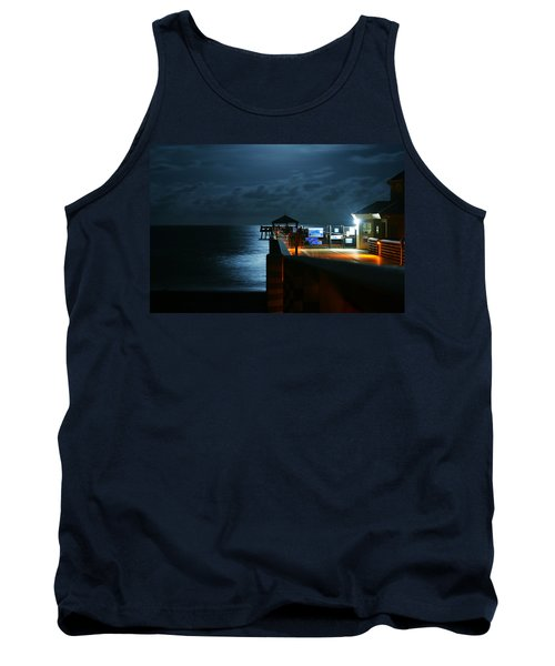 Moonlit Pier Tank Top