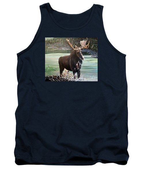 Moose County Tank Top