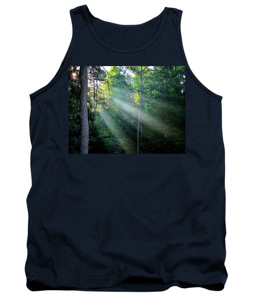 Tank Top featuring the photograph Morning Rays by Greg Simmons