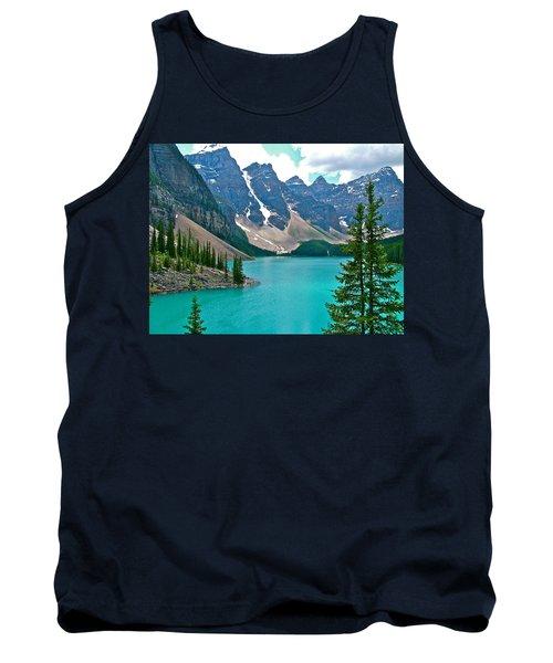 Morraine Lake In Banff Np-alberta Tank Top