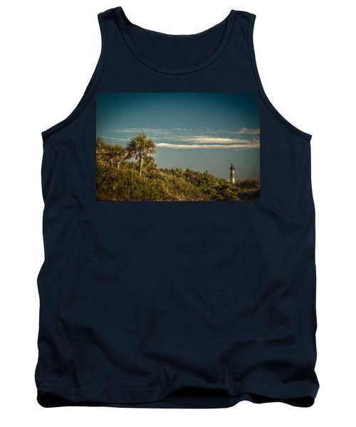 Morris Island Light Charleston Sc Tank Top