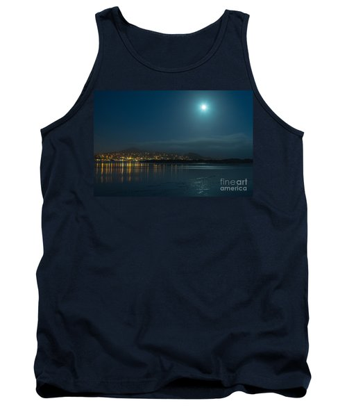 Morro Bay At Night Tank Top