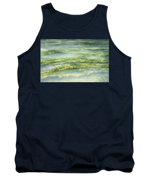 Mossy Tranquility Tank Top by Melanie Lankford Photography