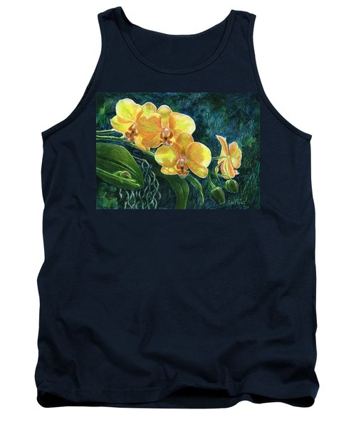 Moth Orchids Tank Top