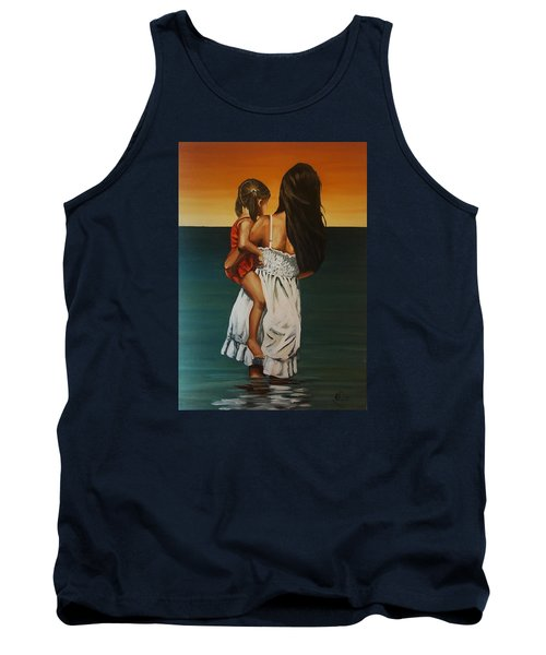 Mother And Daughter II Tank Top