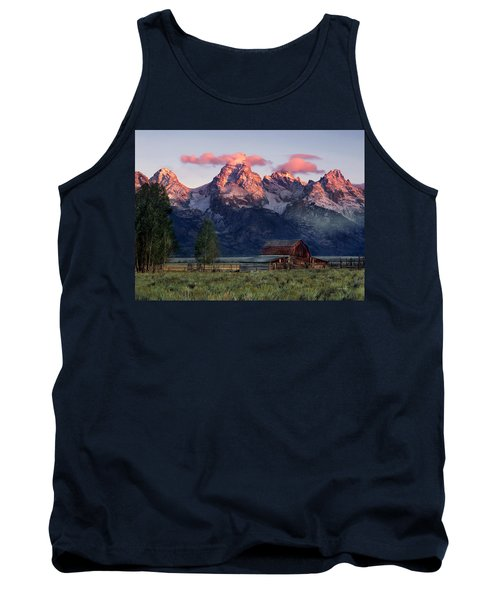 Tank Top featuring the photograph Moulton Barn by Leland D Howard
