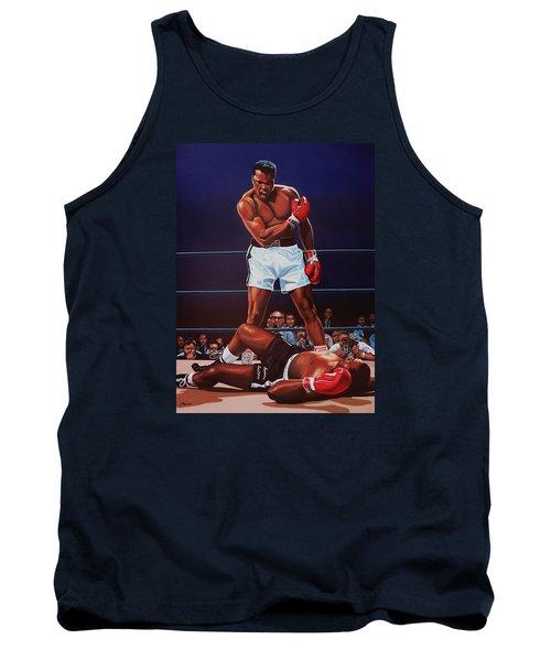 Muhammad Ali Versus Sonny Liston Tank Top