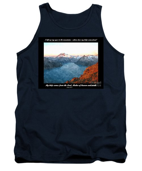 My Help Comes From The Lord Tank Top by Sara  Raber