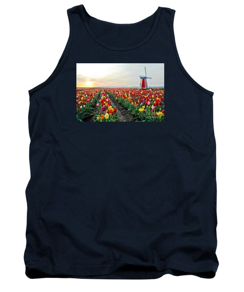 My Touch Of Holland 2 Tank Top by Nick  Boren