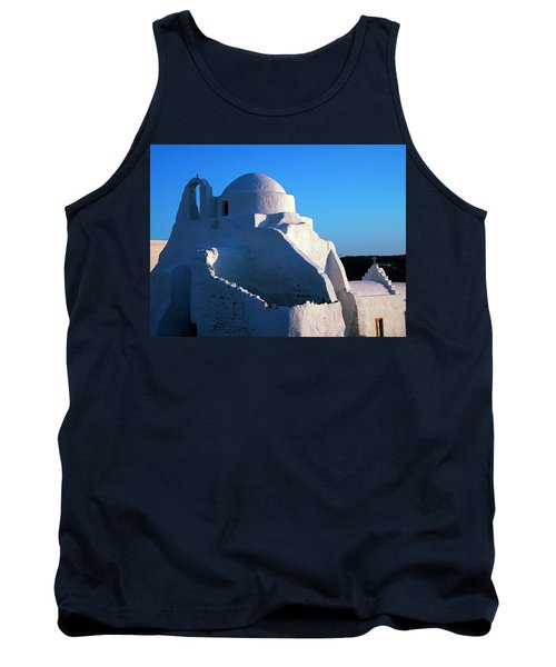 Tank Top featuring the photograph Mykonos Island Greece by Colette V Hera  Guggenheim