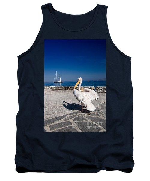 Mykonos Pelican Tank Top