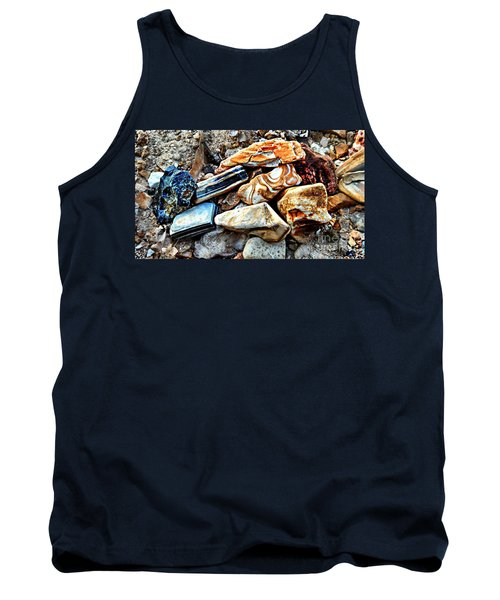 Nature Rocks Tank Top by Peggy Franz