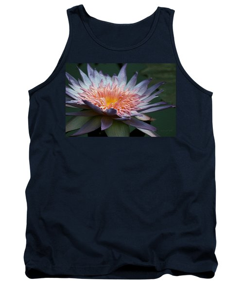 Nature's Baroque Tank Top by Yvonne Wright