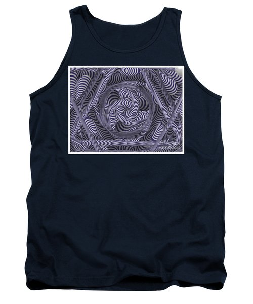 Nautical Coloured Design Tank Top
