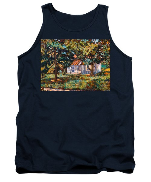 Near The Tech Duck Pond Tank Top