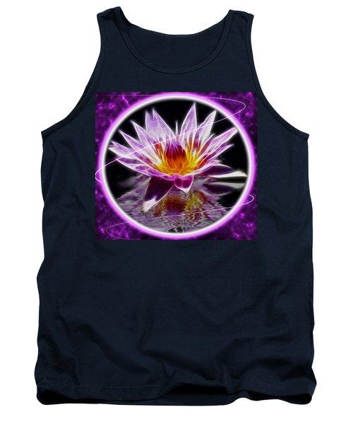 Neon Lotus Tank Top
