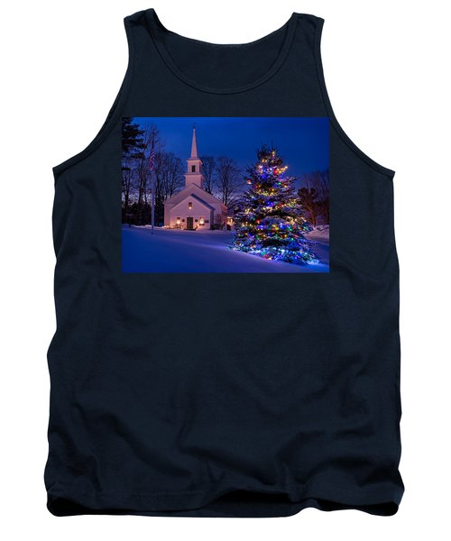 New England Christmas Tank Top
