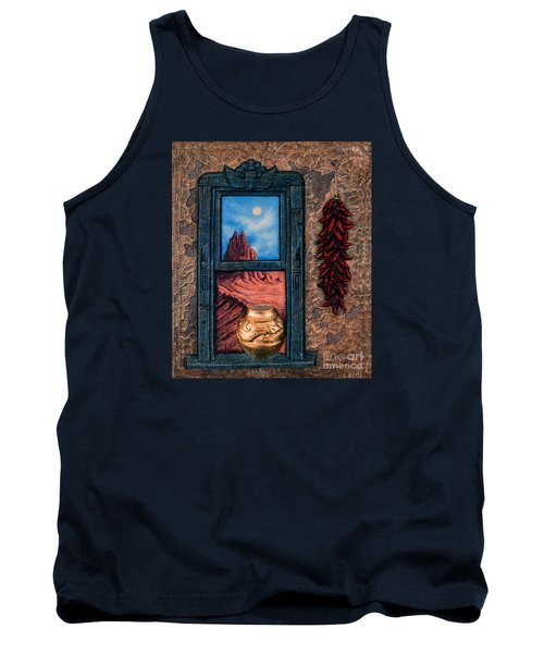 New Mexico Window Gold Tank Top