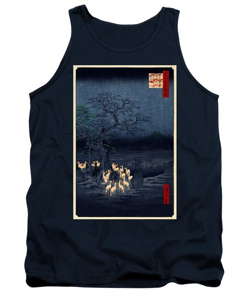 New Years Eve Foxfires At The Changing Tree Tank Top