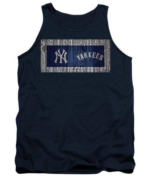 New York Yankees Barn Door Tank Top by Dan Sproul