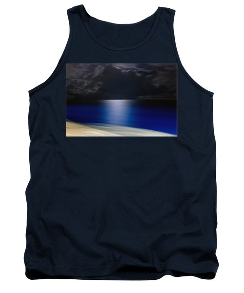 Night And Water Tank Top by Hanny Heim
