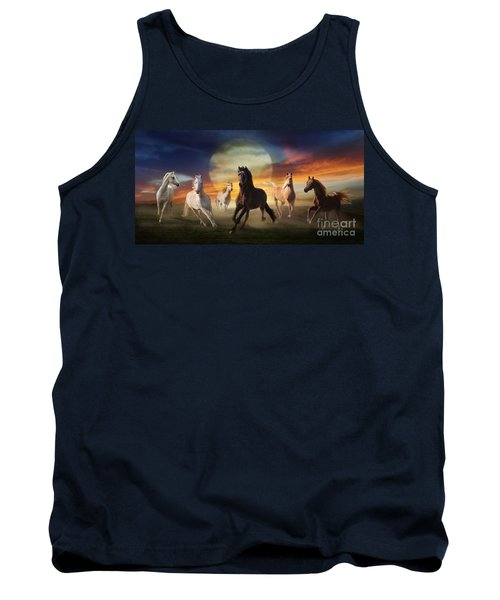 Night Play Tank Top by Melinda Hughes-Berland