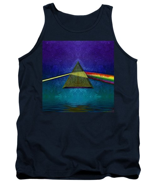 Tank Top featuring the digital art Not So Dark Side 2 by WB Johnston