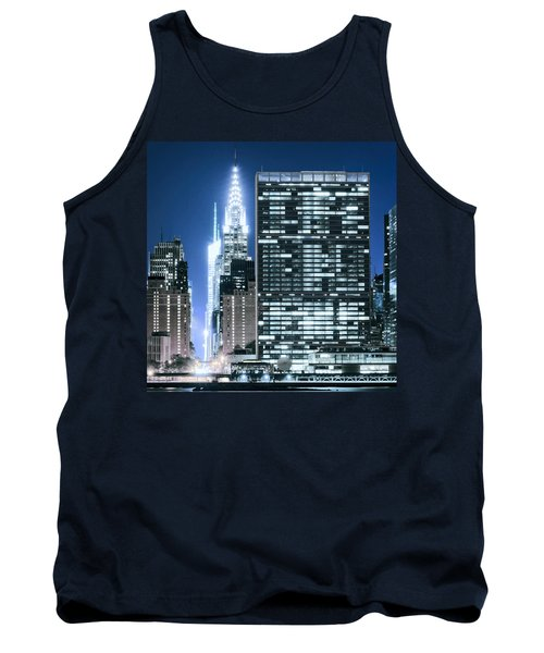 Tank Top featuring the photograph Ny Sights by Theodore Jones