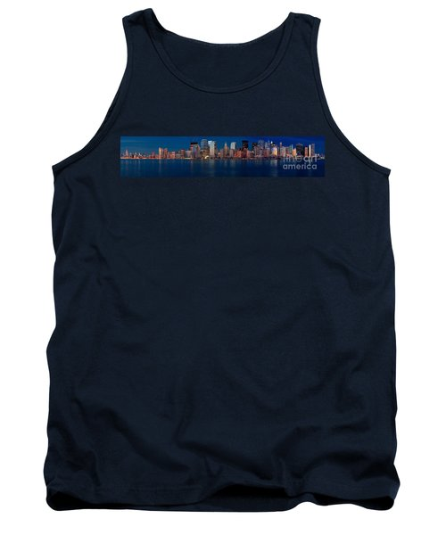 Tank Top featuring the photograph Nyc Pano by Jerry Fornarotto