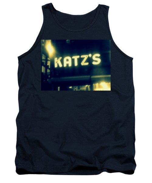 Nyc's Famous Katz's Deli Tank Top by Paulo Guimaraes
