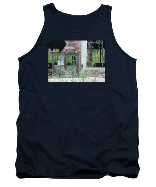 Tank Top featuring the photograph Obsolete by Ann Horn