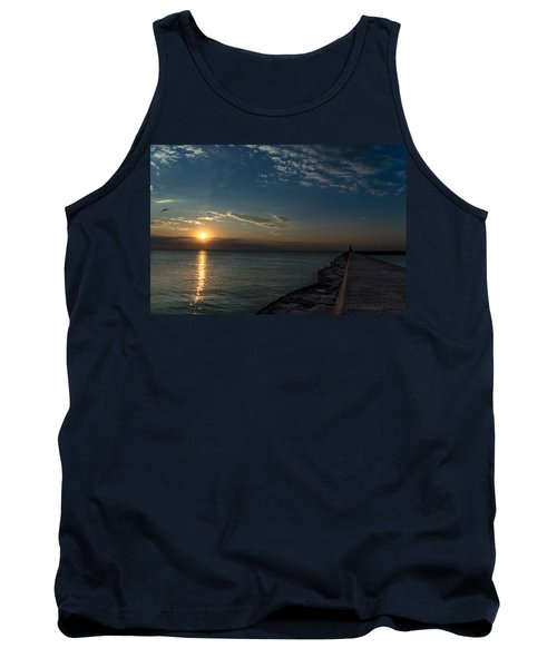 October Sunrise Tank Top