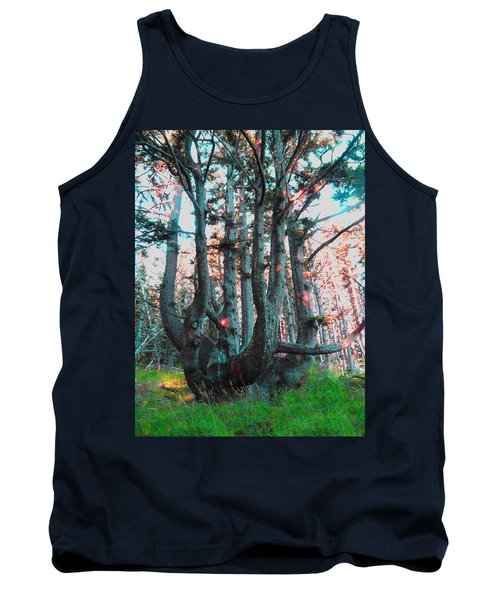 Octopus Tree  Tank Top