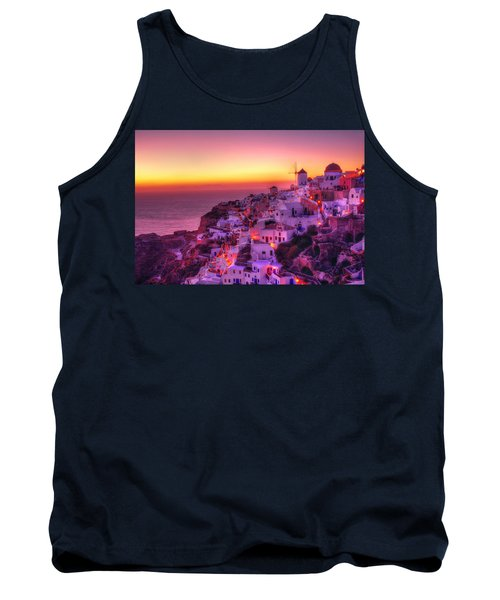 Oia Sunset Tank Top