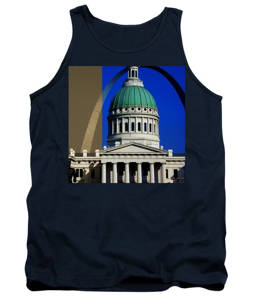 Old Courthouse Dome Arch Tank Top