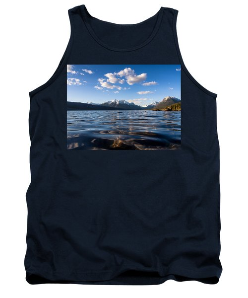 On The Lake Tank Top by Aaron Aldrich