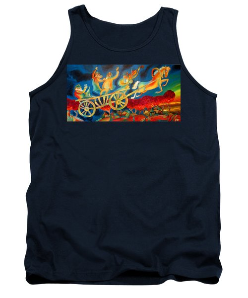 On The Road To Rebbe Tank Top