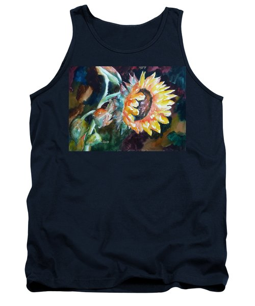 One Sunflower Tank Top