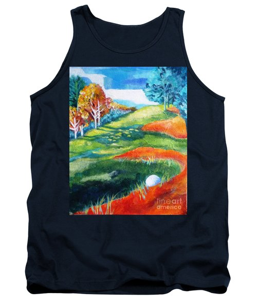 Oops - Bad Lie Tank Top by Betty M M   Wong
