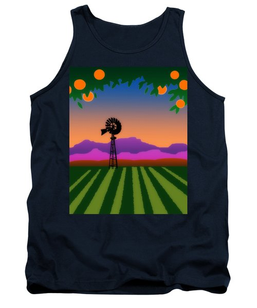 Orange County Tank Top