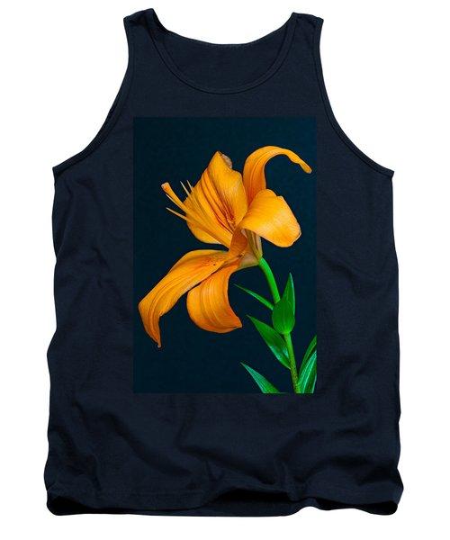 Orange Lily Profile Tank Top