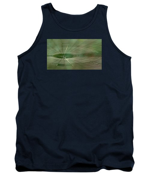 Tank Top featuring the photograph Orchard Orbweaver #2 by Paul Rebmann