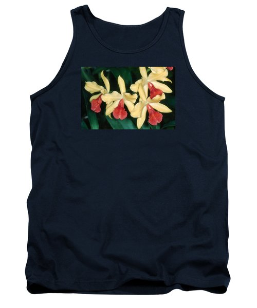 Orchid 11 Tank Top by Andy Shomock