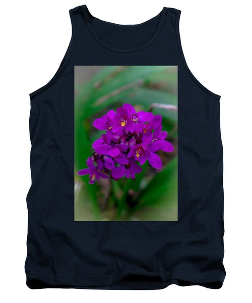 Orchid In Motion Tank Top