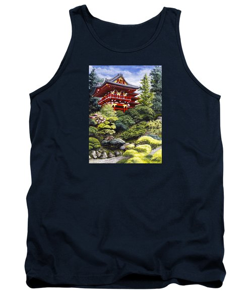 Oriental Treasure Tank Top