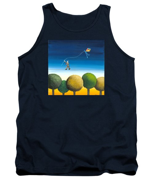 Over The Trees Tank Top